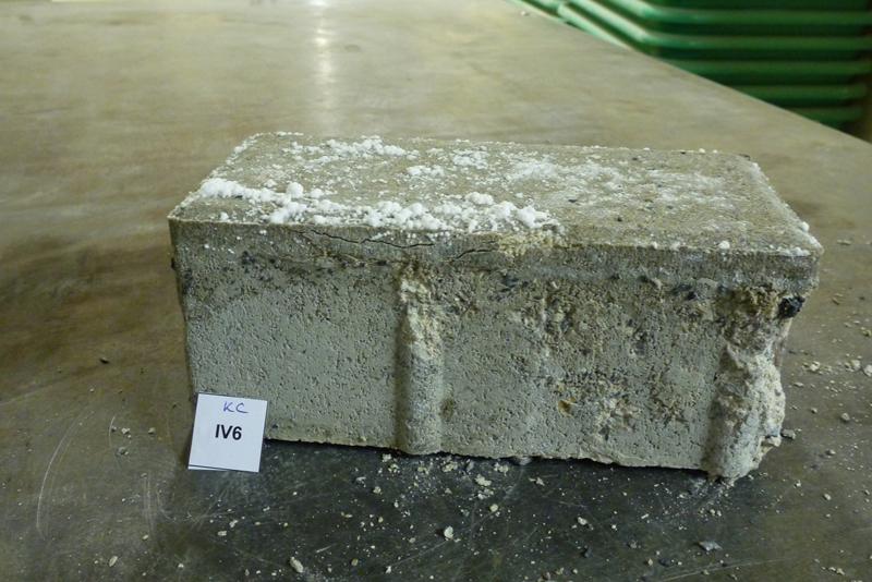 Paver block testing